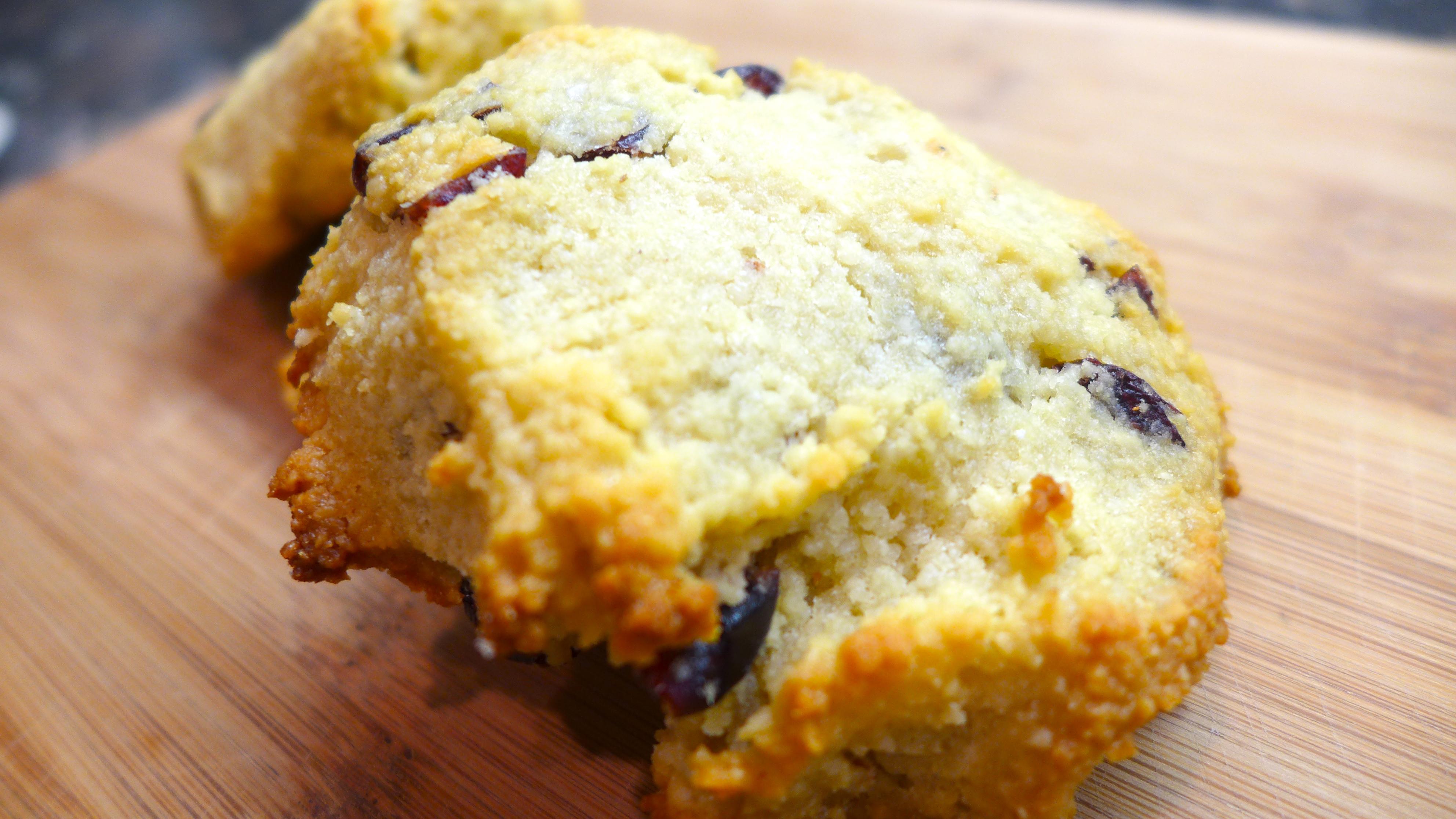Basic almond flour scone
