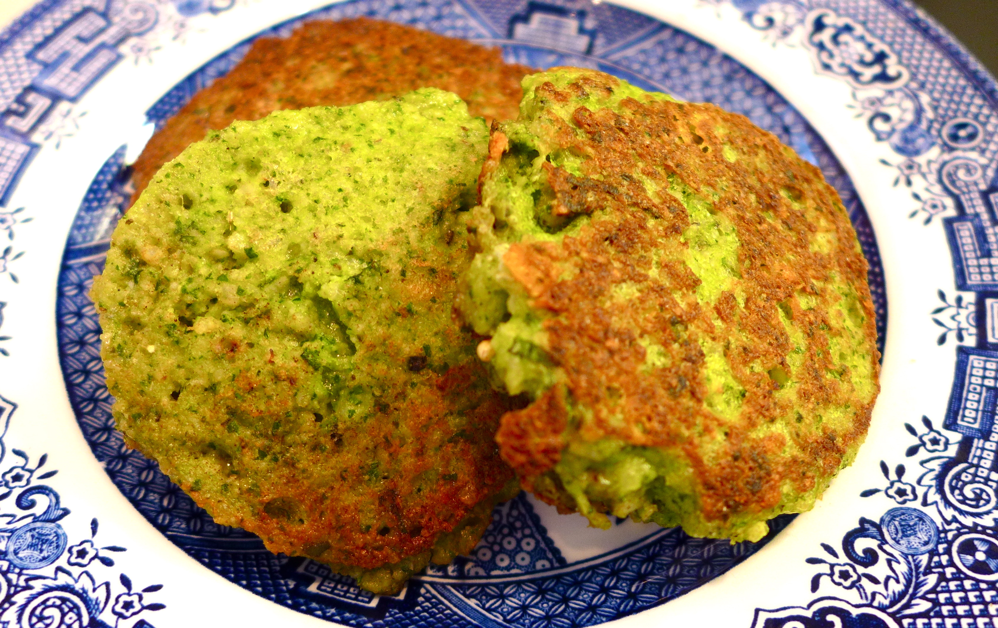 Kale, Chard & Spinach Millet Cakes, Gluten Free