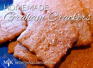 Homemade Graham Crackers (Gluten Free, Dairy Free Optional)