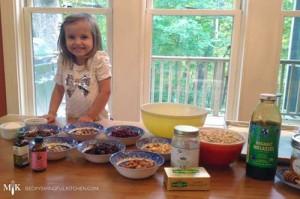Vivi's Kitchen | Homemade Granoli Ingredients & Chef