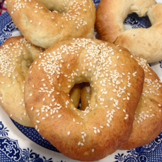 Basic Bagel Recipe (GF optional)