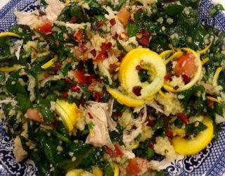 Cilantro Kale and Couscous Salad