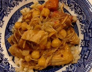 Apricot Turnip Curry with Chicken