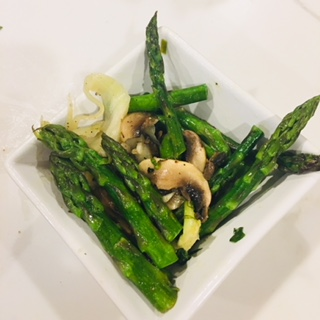 Lemon Garlic Asparagus and Fennel